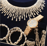 Fatima Dangote's Wedding Jewellery LoveWeddingsNG