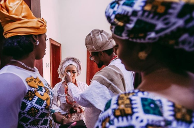 Fatima Ganduje and Idris Abolaji Ajimobi Henna Wedding #FAAJI2018 Tolani Alli LoveWeddingsNG 2