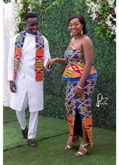 Ghanaian Stylist Nana Ama's Stylist Wardrobe by Yak Weds LoveWeddingsNG