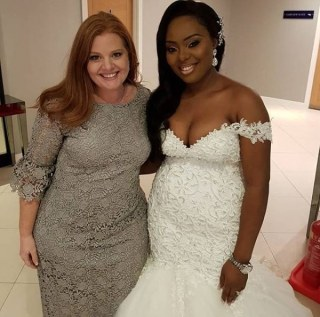 Laurie Idahosa and Miracle, child of Nigerian Pastor Esenam LoveWeddingsNG