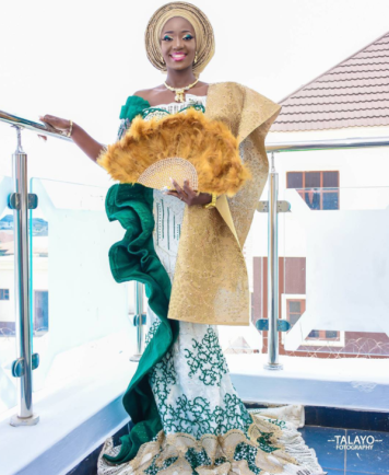 Nigerian Wedding Trends 2018 Bride in Outfit number 2 Dogbe and Ibukun Talayo Fotography LoveWeddingsNG