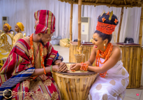 The Biggest Nigerian Wedding Shoot #TheAkugbe18 Bride and Groom LoveWeddingsNG 2