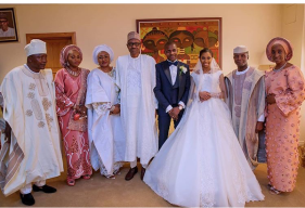 The Vice President's daughter, Damilola Osinbajo weds Oluseun Bakare with the VP, President and Bola Shagaya #DASH18 LoveweddingsNG