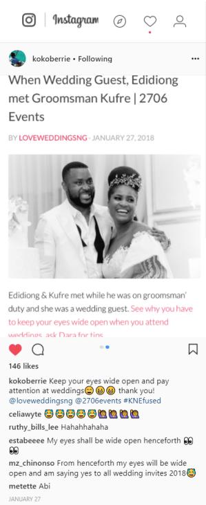 NIgerian Bride and Groom Featured on Nigerian Wedding Blog LoveWeddingsNG