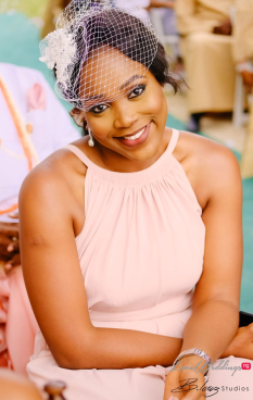Nigerian Bridesmaid Ini and Femi's Rustic Nigerian Wedding LoveWeddingsNG 3