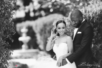 Stephanie and Soji's Nigerian Wedding Bride and Groom #OGLoveStory LoveWeddingsNG 12