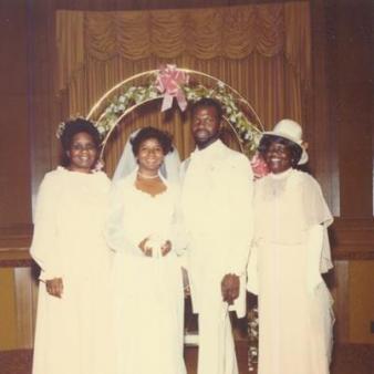 Bishop TD Jakes and Serita Jakes at their Wedding LoveWeddingsNG