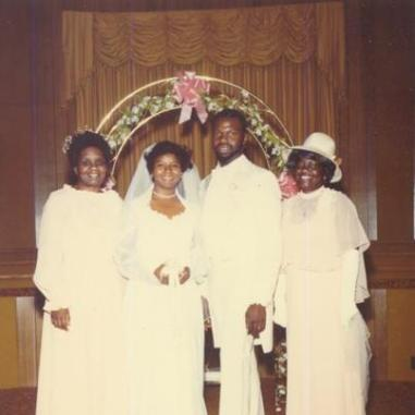 Bishop TD Jakes and Serita Jakes at their Wedding LoveWeddingsNG