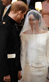 Meghan Markle's Givenchy Wedding Dress LoveWeddingsNG