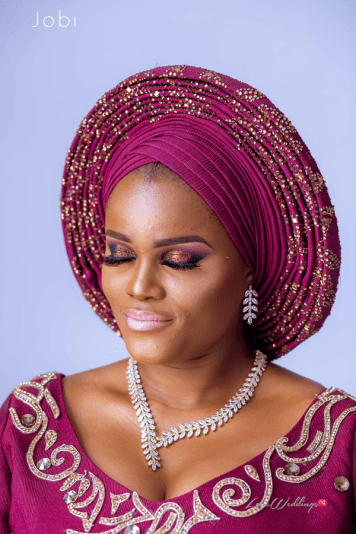 Nigerian Traditional Wedding Tobi and Efe #TheObodos Planned by MoAmber Concepts LoveWeddingsNG - Bridal Makeup