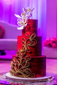 Nigerian Traditional Wedding Tobi and Efe #TheObodos Planned by MoAmber Concepts LoveWeddingsNG - Cake
