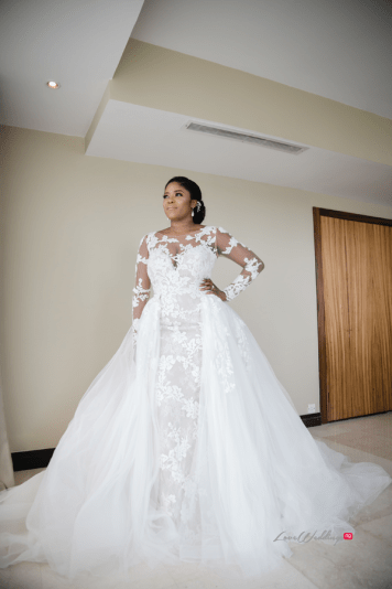 Nigerian bride in Pronovias #Ayowa18 Wani Olatunde Photography LoveWeddingsNG