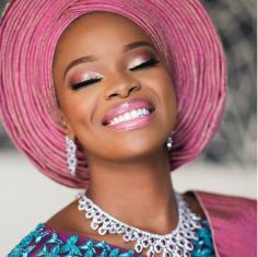 Zainab Balogun and Dikko Nwachukwu Nigerian Traditional Wedding Makeup Bimpe Onakoya LoveWeddingsNG