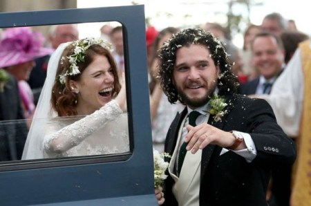 Game of Thrones Kit Harington and Rose Leslie's Scottish wedding LoveWeddingsNG