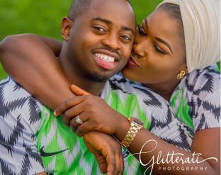 Nigerian PreWedding Shoot Nike Naija Kit Glitteratti Photography LoveWeddingsNG