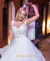 Tonto Dikeh 33rd Birthday Party Bridal Look LoveWeddingsNG 2