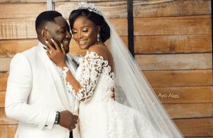 Ajebo Comedian's White Wedding #MeetTheAjebos18 LoveWeddingsNG Ayo Alasi 1