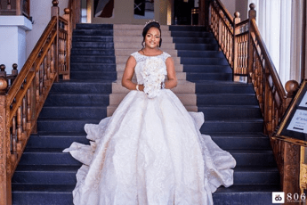 DJ Consequence weds Olayemisi Williams #TheVibesWedding18 Bride LoveWeddingsNG