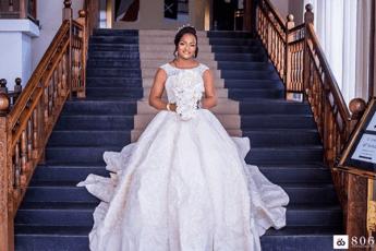 DJ Consequence weds Olayemisi Williams #TheVibesWedding18 Bride LoveWeddingsNG