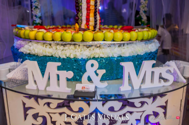 Damilola Ambode and Temi Ojelabi's Nigerian Wedding Fruit Table Fruit Tree #MeetTheAmbodes MoAmber Concepts LoveWeddingsNG107 1