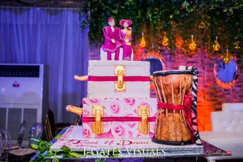 Damilola Ambode and Temi Ojelabi's Nigerian Wedding #MeetTheAmbodes MoAmber Concepts LoveWeddingsNG84