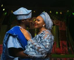 Olu Jacobs and Joke Silva's son, Olusoji and Boma's Traditional Wedding #BOJ2018 LoveWeddingsNG 1