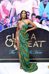 Sharom Ooja at the premiere of Lara and The Beat LoveWeddingsNG