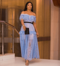 Toke Makinwa at the premiere of Lara and The Beat LoveWeddingsNG 1