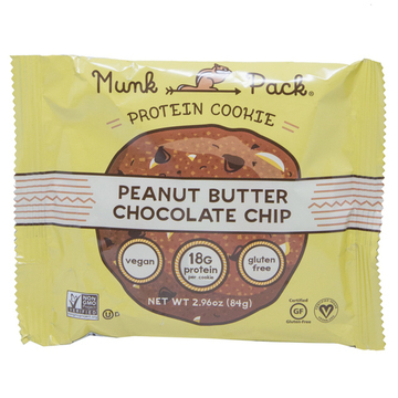 Peanut Butter Chocolate Chip Protein Cookie by Munk Pack