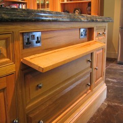 Kitchen Island Electrical Outlet Kitchens For Sale Carved Oak | Lovewood