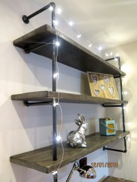 Gas Pipe shelving-made to order | Lovewood Kitchens