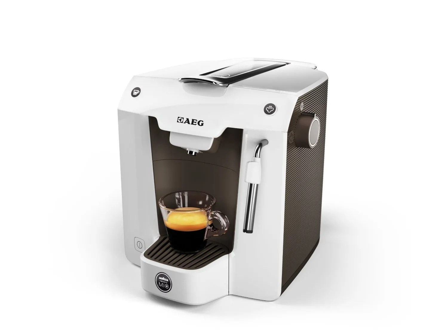 AEG A Modo Mio Favola Lavazza Espresso Coffee Machine 0.9 Litre 1300 Watt Best Cheap Single Cup Coffee Maker