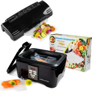 Andrew James Ultimate Sous Vide Package Includes Black Sous Vide Machine