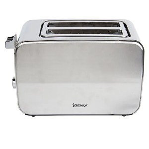 Igenix IG3202 2 Slice Toaster with Illuminating Blue Lights