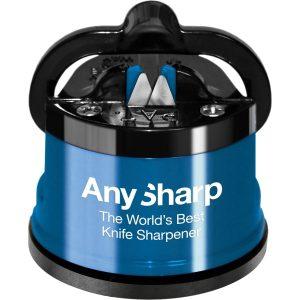 AnySharp Knife Sharpener with PowerGrip