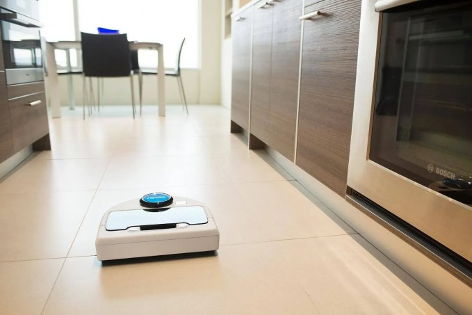 using a robotic vacuum cleaner