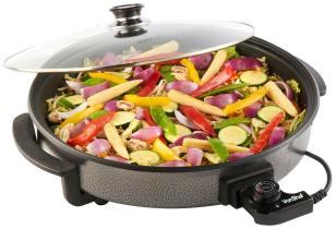 VonShef 1500W Round Multi Cooker