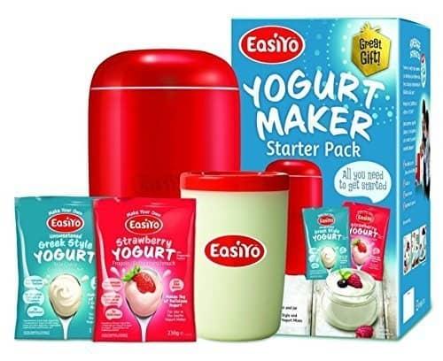 EasiYo Home-made Yoghurt Making Kit. Includes Maker, Jar & 2 Sachets Review