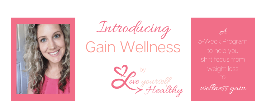 Gain Wellness 5 Week Program Lead Photo