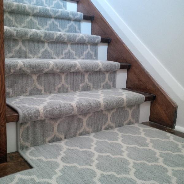 Geometric Stair Runner Carpet