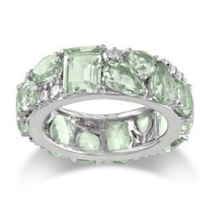 Miadora-Sterling-Silver-Green-Amethyst-Ring