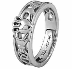 sterling-silver-uls-6157-ladies-claddagh-ring