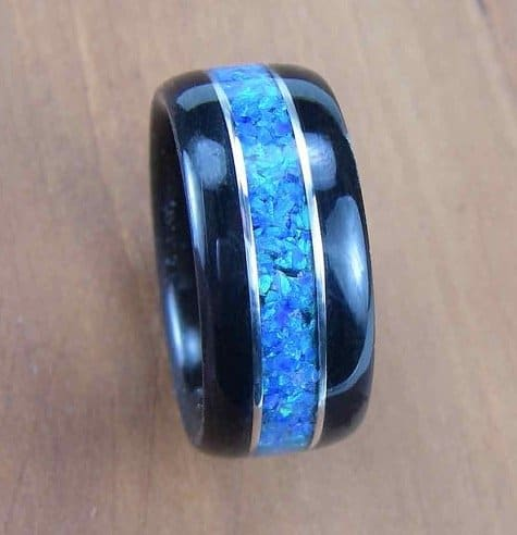 Inlays For Wooden Wedding Rings Part 2 Malachite To