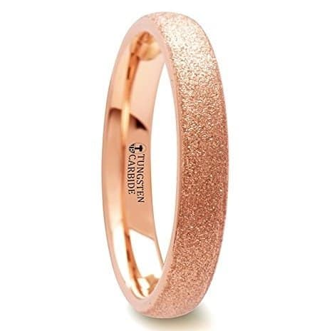 ember-domed-tungsten-carbide-ring-with-rose-gold-plating-and-sandblasted-crystalline-finish-4-mm-8-mm