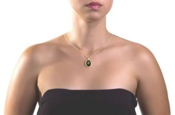 necklack black onyx zodiac sign