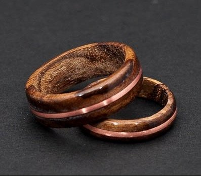 teak-wood-ring-with-copper-inlay