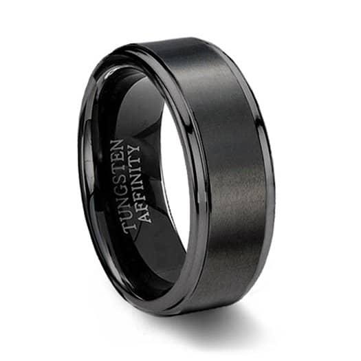 Tungsten carbide vs titanium ring