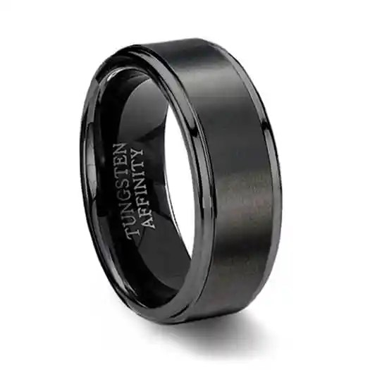 titanium black mirell ring rings rainbow jewellery edward