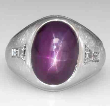 11-carat-vintage-unheated-star-ruby-mens-ring-in-platinum