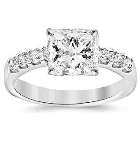 gia-certified-1-03-carat-princess-cutshape-14k-white-gold-classic-prong-set-round-diamond-engagement-ring